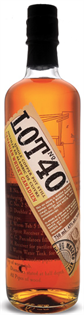 Lot No 40 Canadian Rye Whisky 750ml